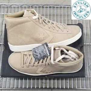 Converse Pro 76 Mid in Khaki New with Tags No Box